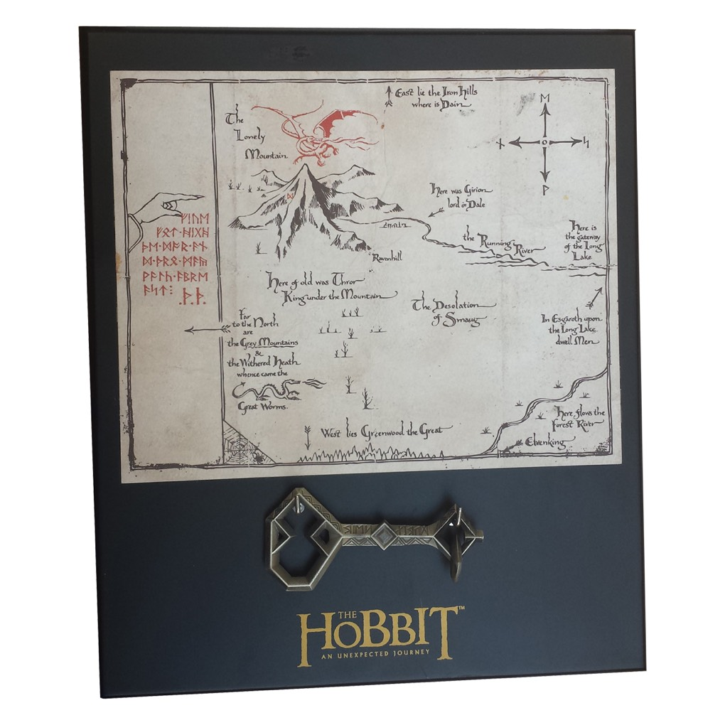 Thorin 8X10 Map & Key