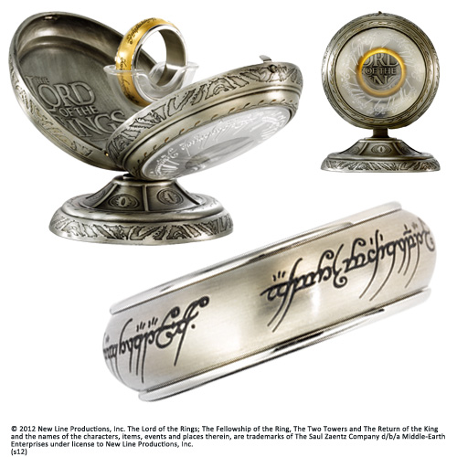 One Ring Spinning Stainless Steel-Steel US size 10