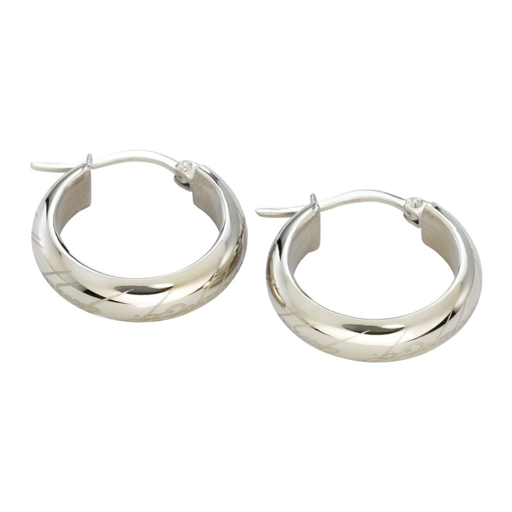 One Ring Earring Stainless Steel