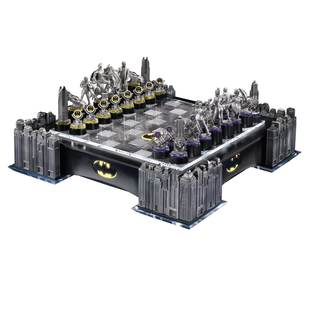 Batman Pewter Chess Set