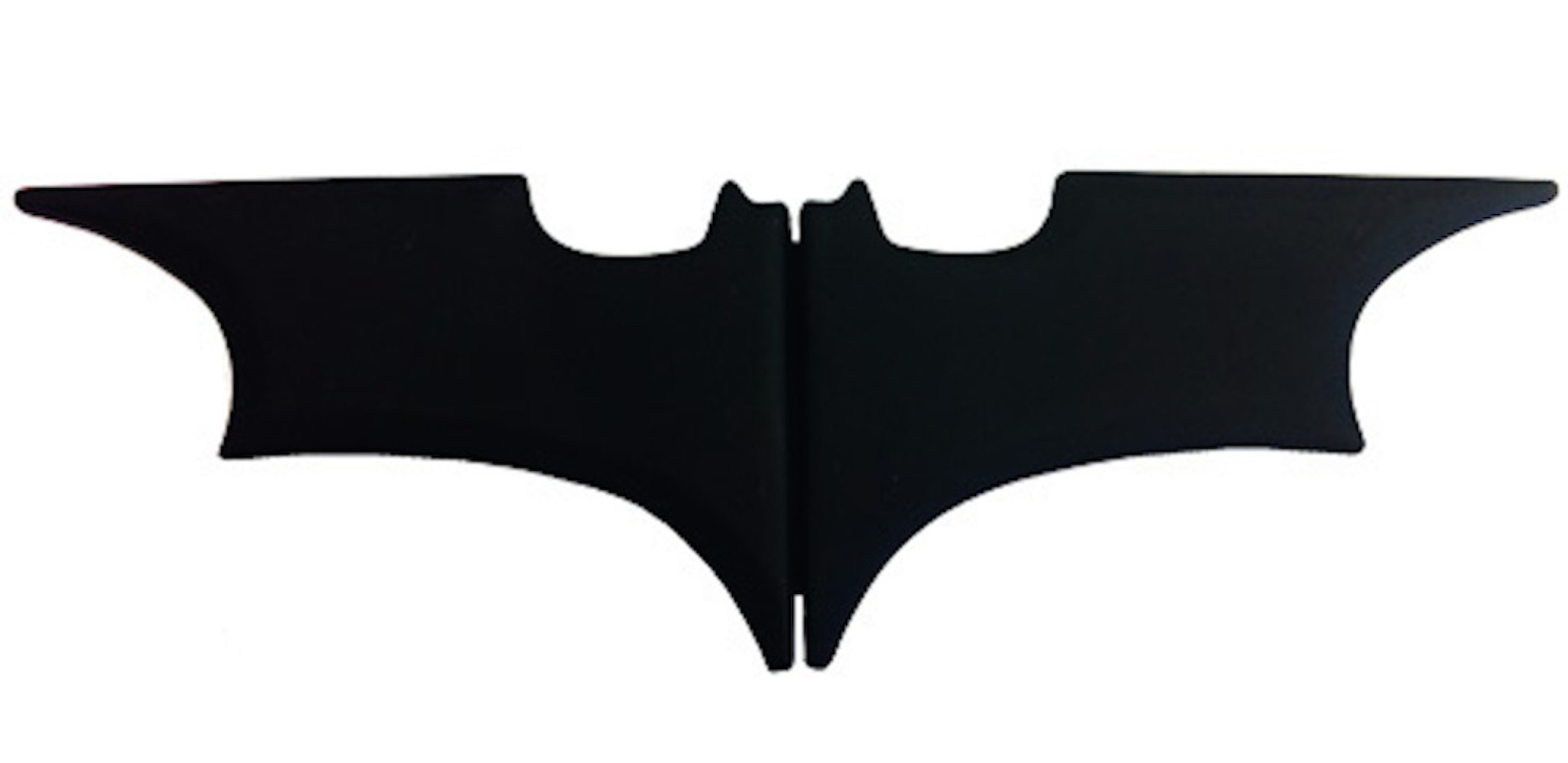 Batarang Folding Money Clip (Black)(2)