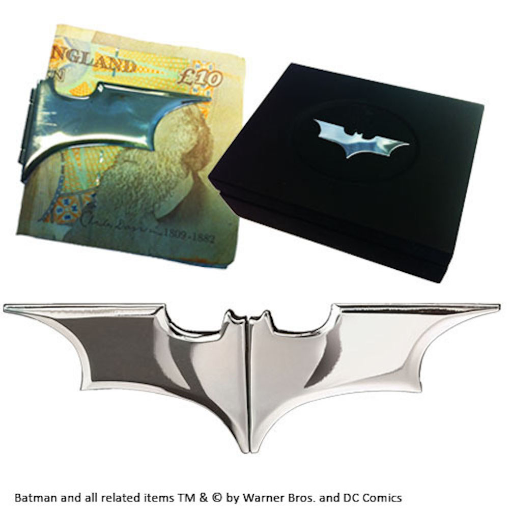 Batarang Money Clip (Dark Chrome)(2)