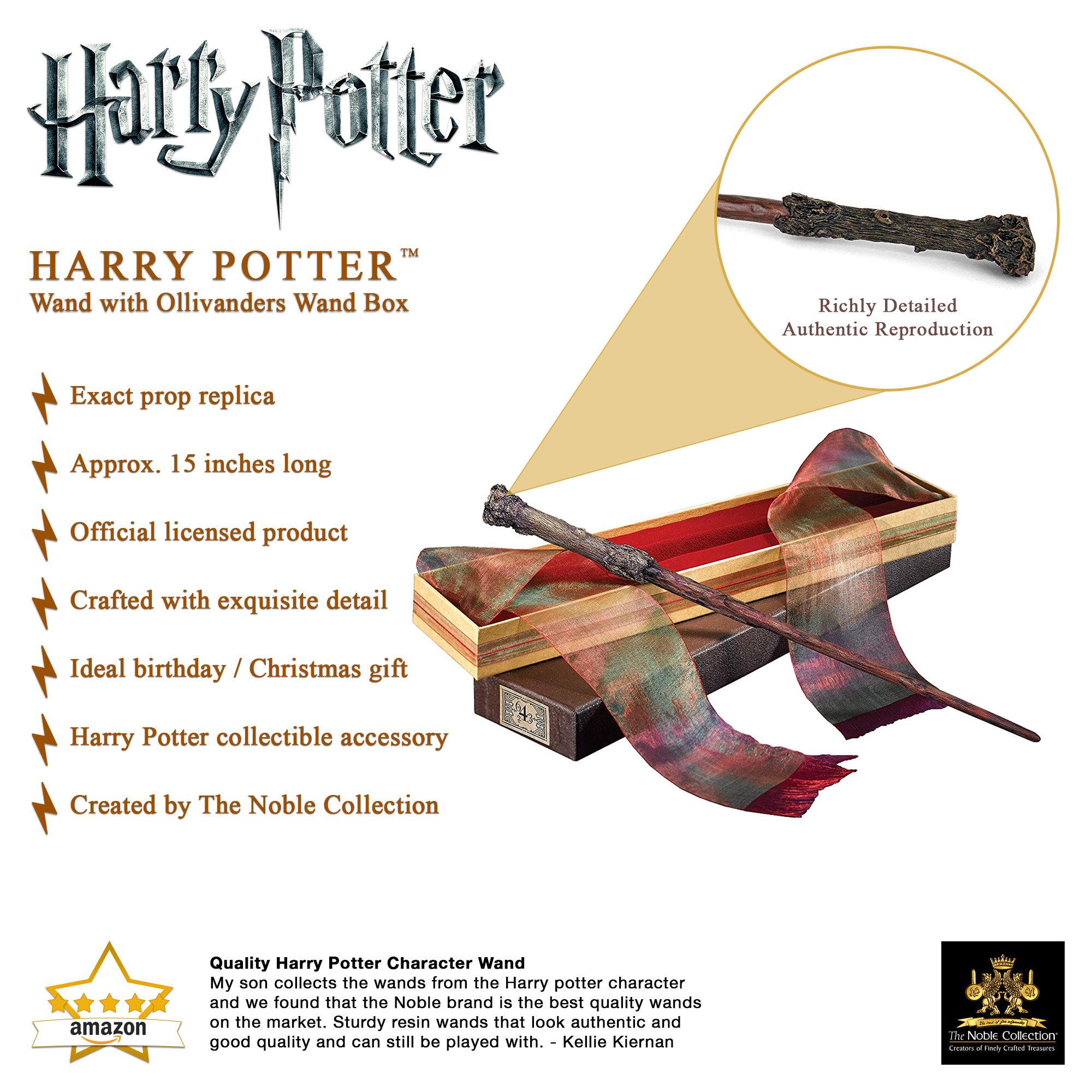Harry Potter Wand in Ollivanders Box (10)
