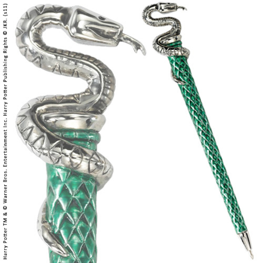 Slytherin Pen Silver Plated (6)
