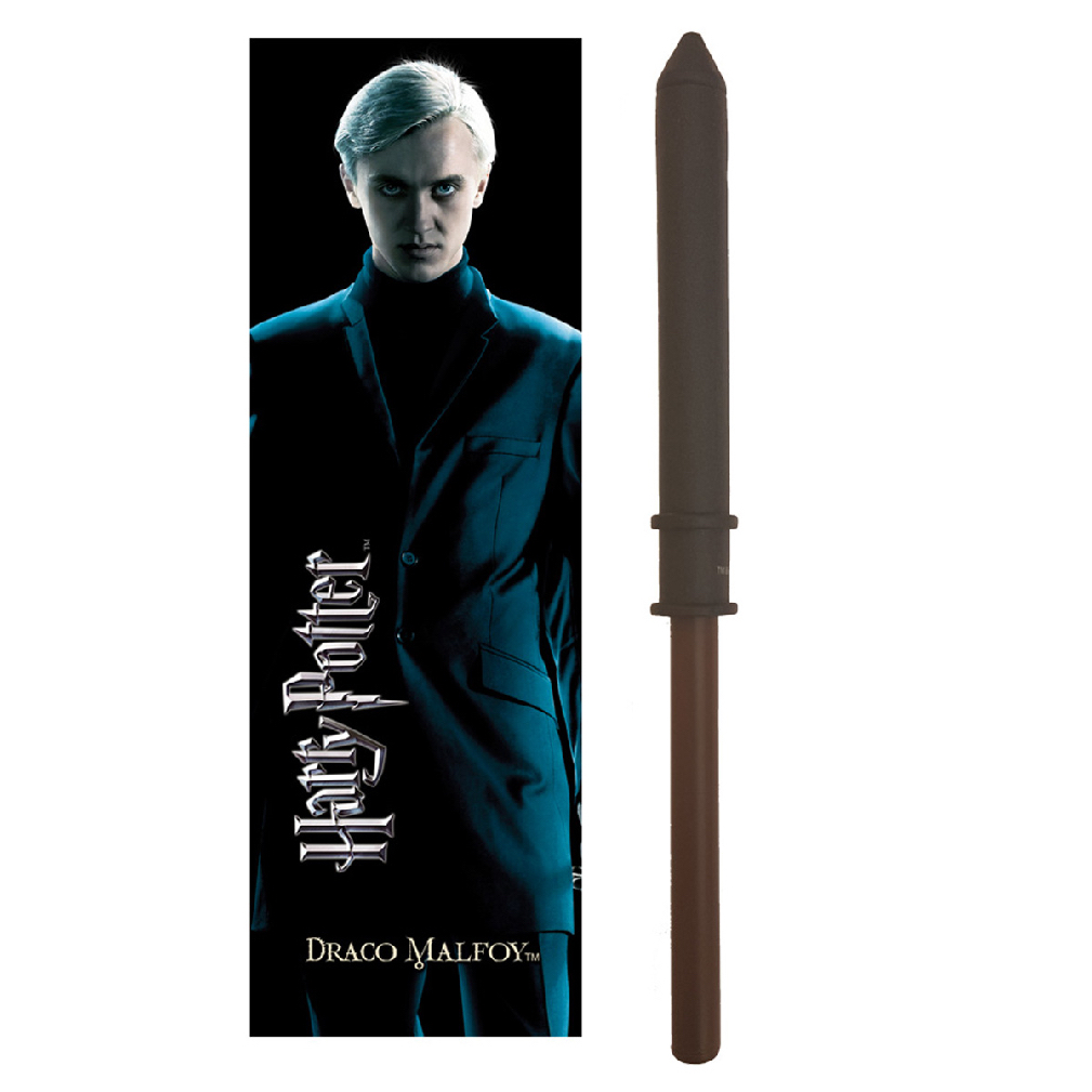 Draco Malfoy Wand Pen and Bookmark (10)