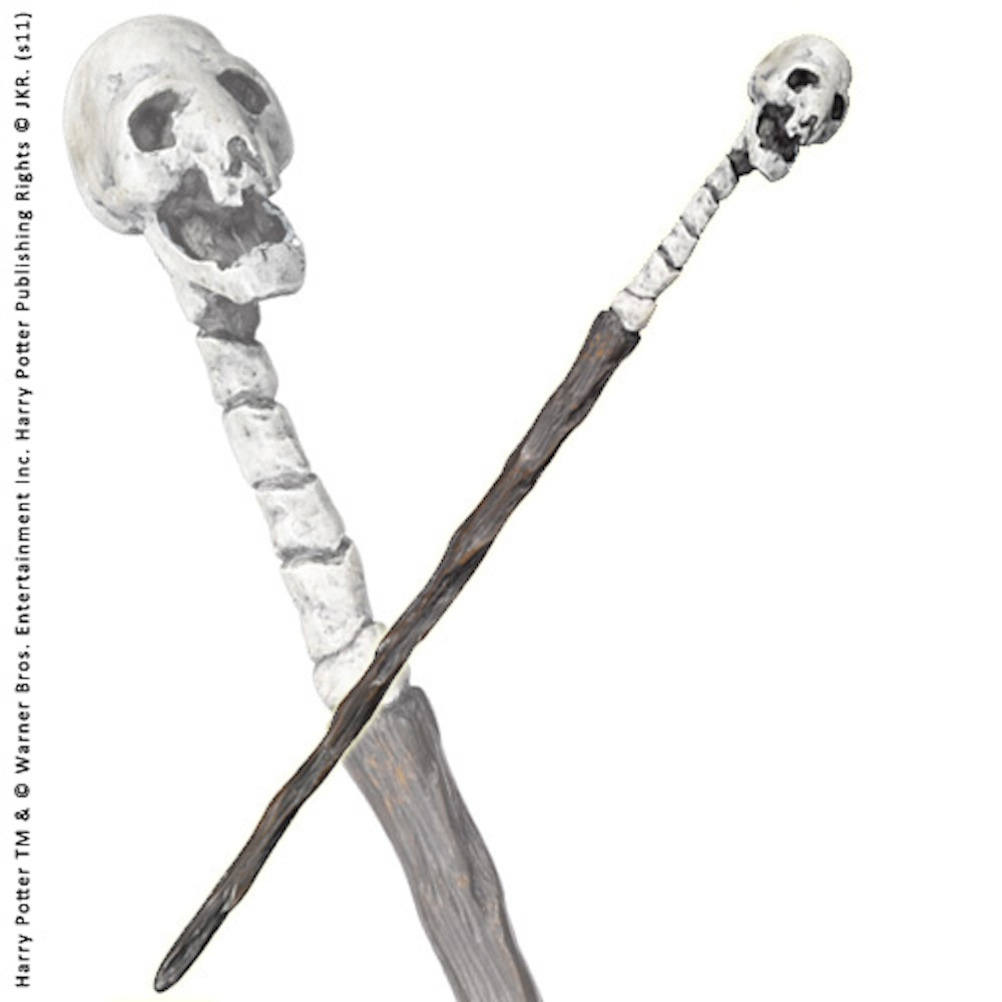 Death Eater Character Wand (skull) (4)