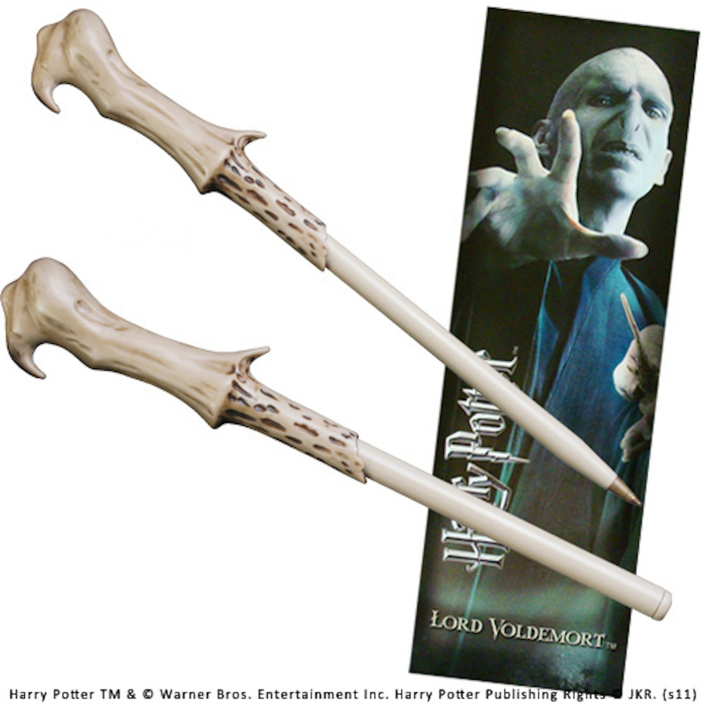 Voldemort Wand Pen and Bookmark (10)