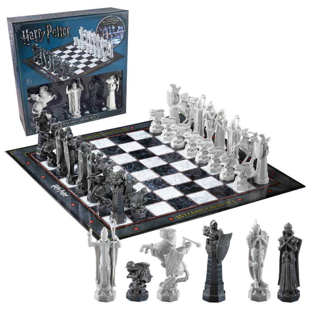 Wizard Chess Set (Retail Packaging)