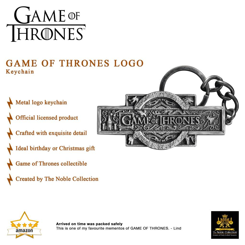 Game of Thrones Logo Keychain (4)